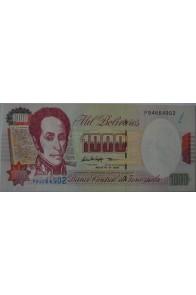 1000 Bolívares Agosto 6 1998 Serie P8