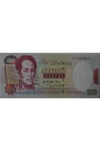 1000 Bolívares Agosto 6 1998 Serie P9