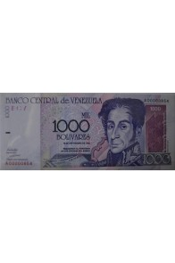 1000 Bolívares Septiembre 10 1998 Serie A8