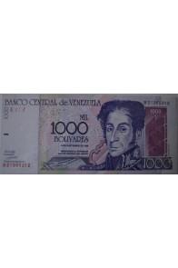 1000 Bolívares Septiembre 10 1998 Serie B8