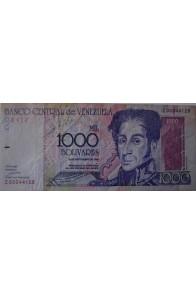 1000 Bolívares Septiembre 10 1998 Serie Z8