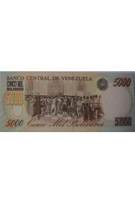 5000 Bolívares Modelo A
