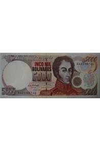 5000 Bolívares Mayo 12 1994 Serie A8
