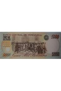 5000 Bolívares Modelo B