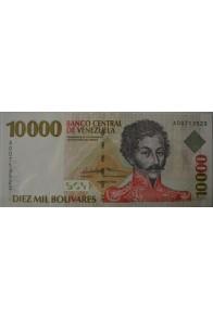 10000 Bolívares Febrero 10 1998 Serie A8