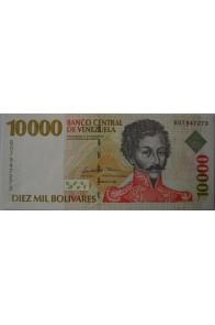 10000 Bolívares Febrero 10 1998 Serie B8