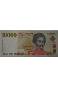 10000 Bolívares Febrero 10 1998 Serie Z8