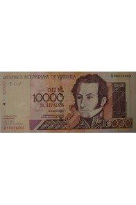 10000 Bolívares Mayo 25 2000 Serie B8