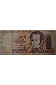 10000 Bolívares Agosto 13 2002 Serie C8