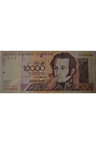 10000 Bolívares Agosto 13 2002 Serie Z8