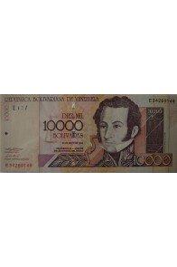 10000 Bolívares Mayo 25 2004 Serie E8