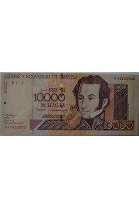10000 Bolívares Abril 25 2006 Serie F8