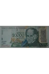 20000 Bolívares Agosto 24 1998 Serie Z8