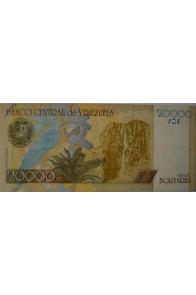 20000 Bolívares Modelo B