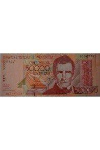 50000 Bolívares Agosto 24 1998 Serie B8