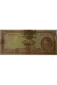 100 Bolívares Mayo-26-1970 U7 Falso. Anv