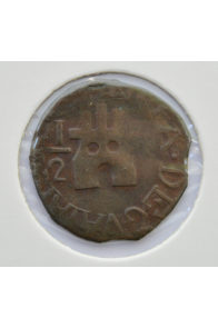 2 Medio Centavos  - 1877