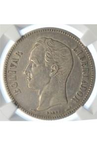 2 Bolivares  - 1900