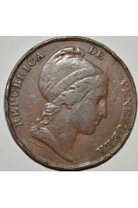 1/2 Centavo  - 1852