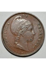 1/4 Centavo  - 1843