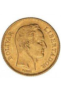 20 Bolivares  - 1887