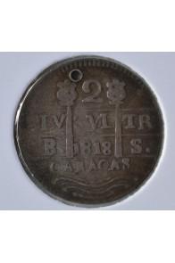 2 Reales  - 1817-21