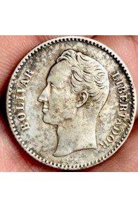 1 Bolivar  - 1886