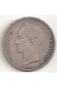 1 Bolivar  - 1887