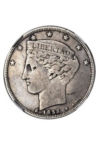 2 Reales - 1858