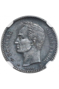 5 Centavos  - 1876