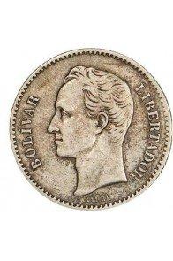 1 Bolivar  - 1879