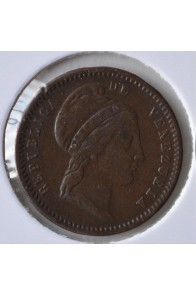 1/2 Centavo  - 1843