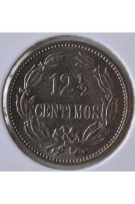 12 Medios Centimos  - 1896