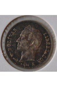 Cuarto Bolivar  - 1894