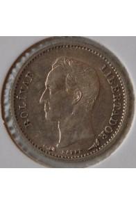 Cuarto Bolivar  - 1900