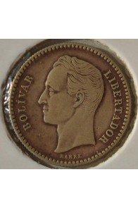 Medio Bolivar  - 1887