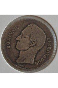 1 Bolivar  - 1888