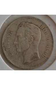 2 Bolivares  - 1879