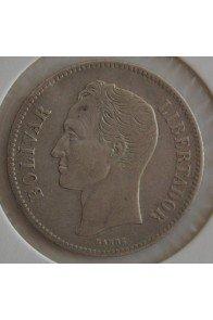 2 Bolivares  - 1887