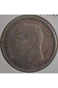 5 Bolivares  - 1886