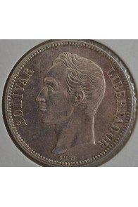 5 Bolivares  - 1887