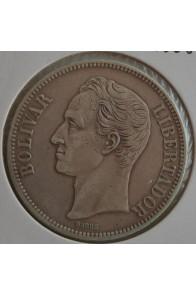 5 Bolivares  - 1888