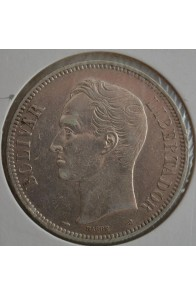 5 Bolivares  - 1900