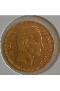 20 Bolivares  - 1879