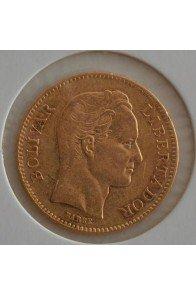 20 Bolivares  - 1880