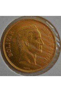 100 Bolivares  - 1886