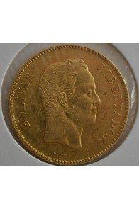 100 Bolivares  - 1887