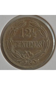 12 Medios Centimos  - 1927