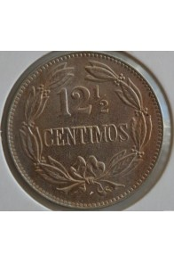 12 Medios Centimos  - 1936