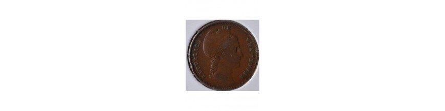 Un Cuarto Centavo 1843-1863